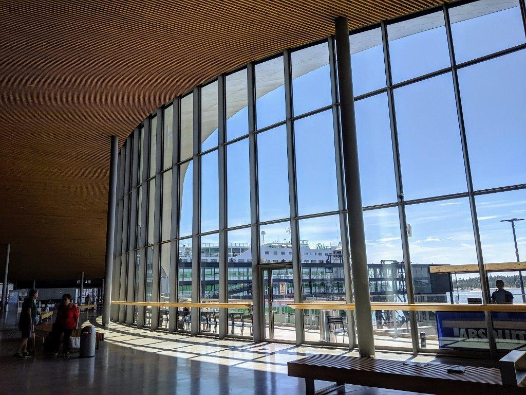 芬蘭渡輪大廳