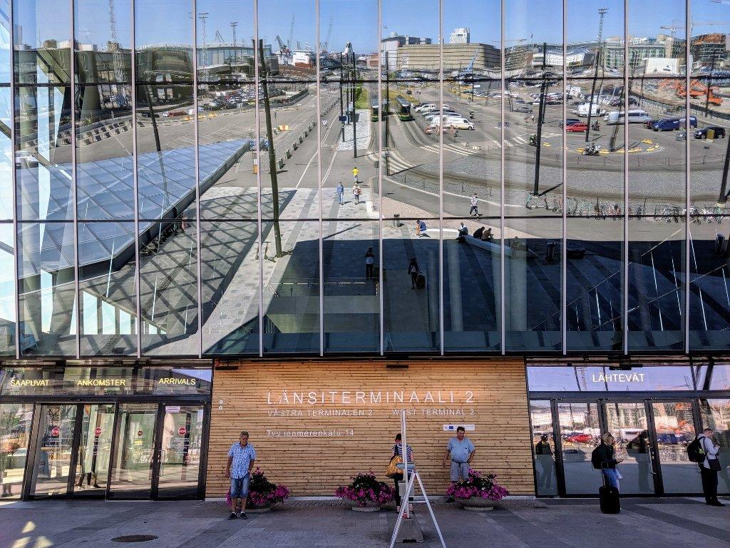 芬蘭赫爾辛基第二碼頭
