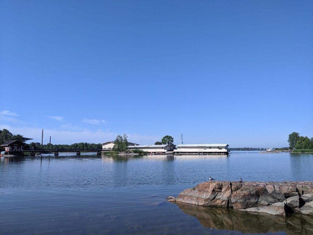 西貝流士公園旁碼頭