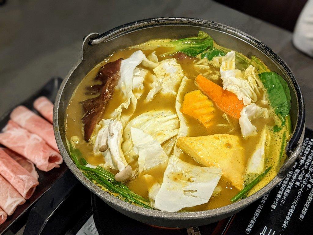 龜丹六二餐廳日式咖哩鍋 (1)