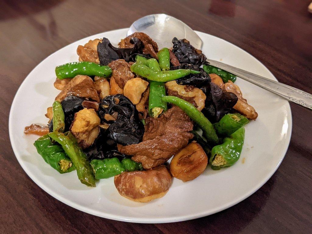 六重溪千霞園素食合菜 (3)