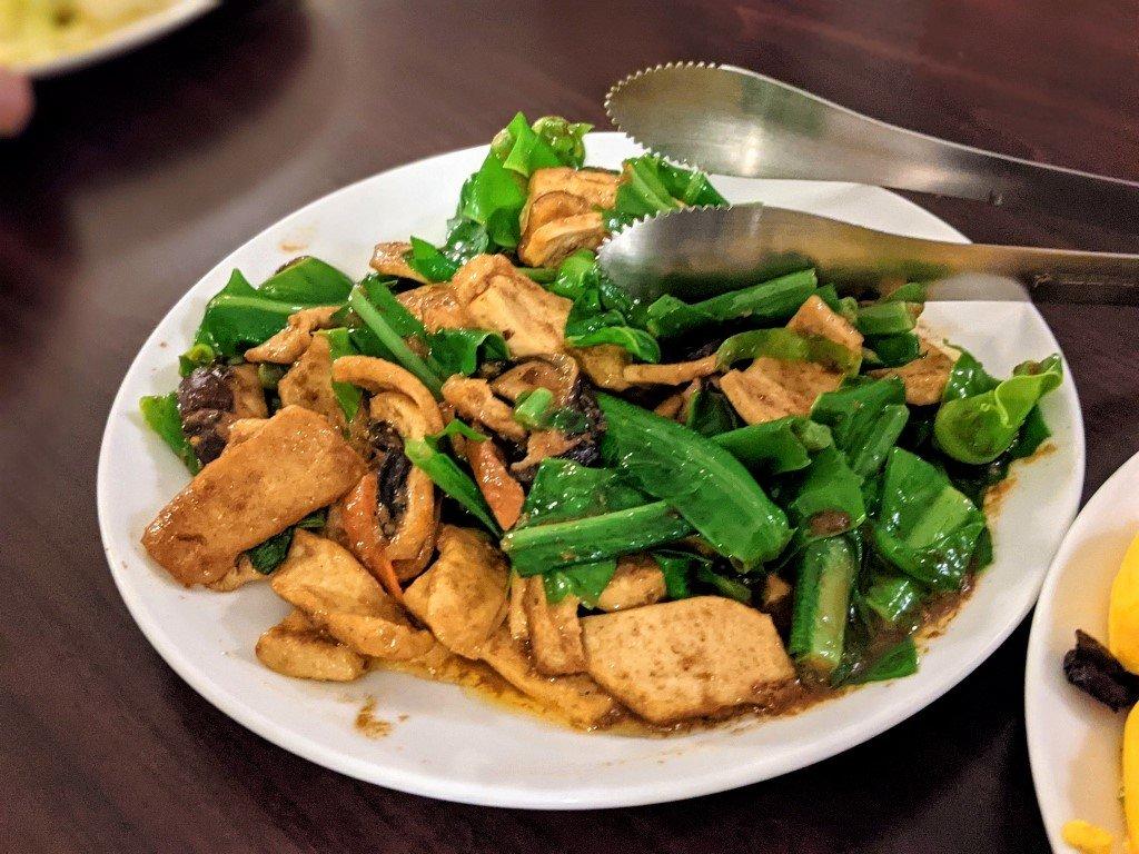 六重溪千霞園素食合菜 (5)