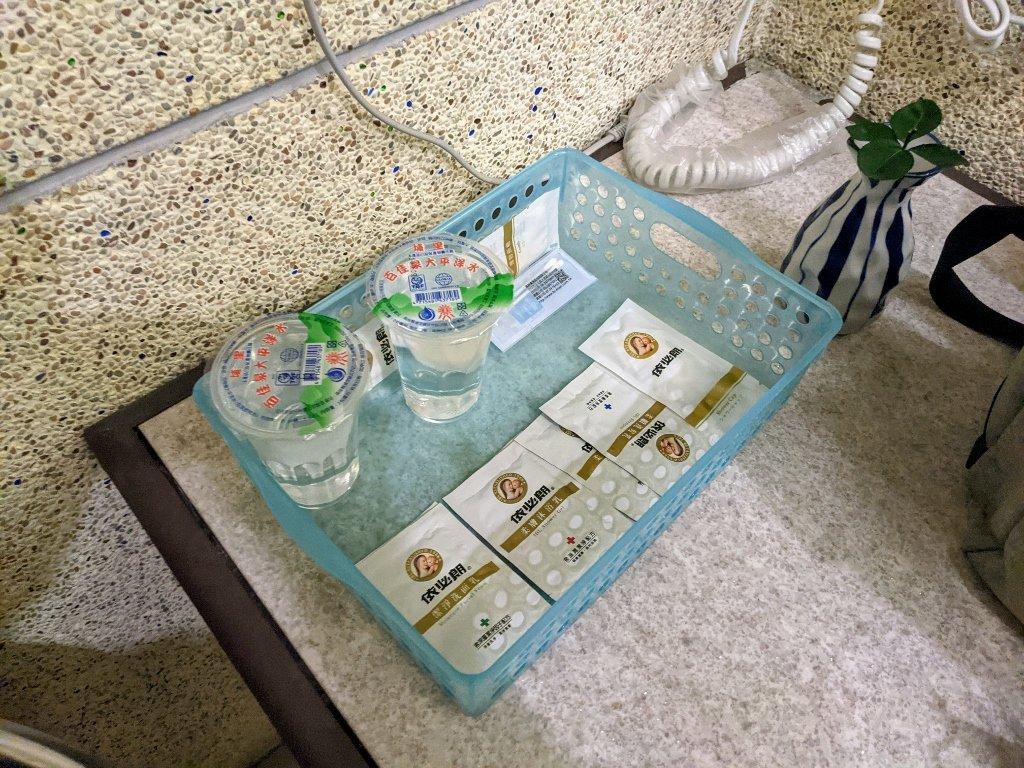 六重溪千霞園 湯屋內備品