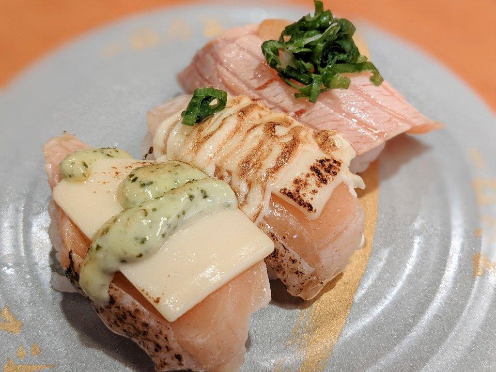 南紡壽司郎 炙燒鮭魚三種