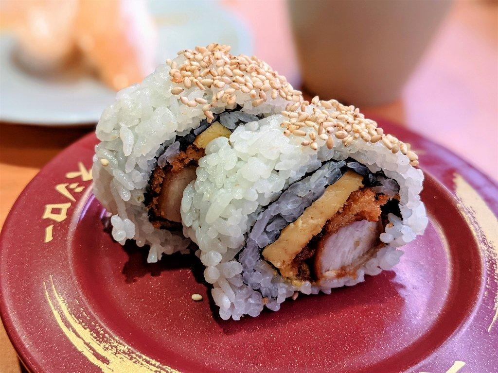 南紡壽司郎 豬排酪梨捲