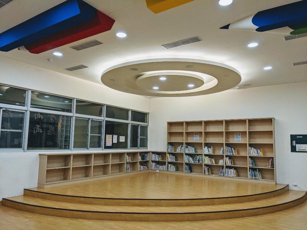 屏東復興圖書館 兒童閱讀區 (2)