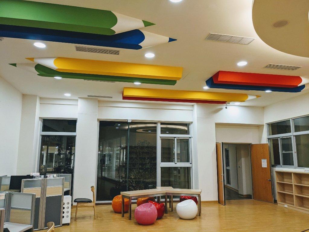 屏東復興圖書館 兒童閱讀區