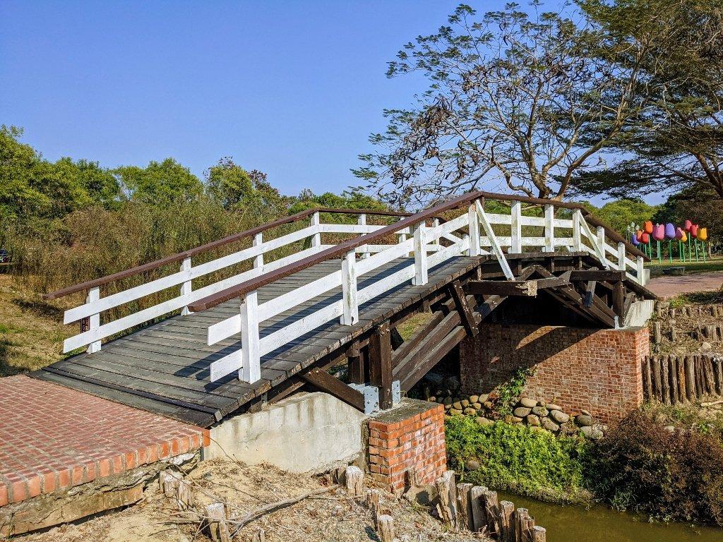 德元埤荷蘭村 木橋