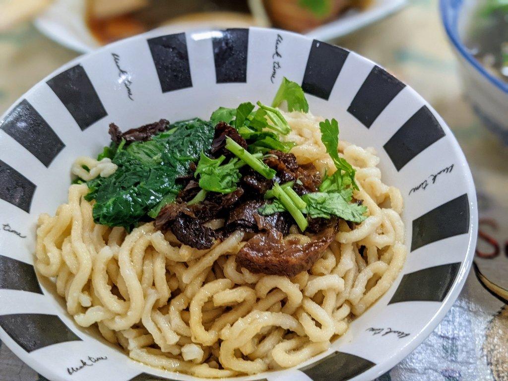 菩提綠食素食餐飲 乾意麵