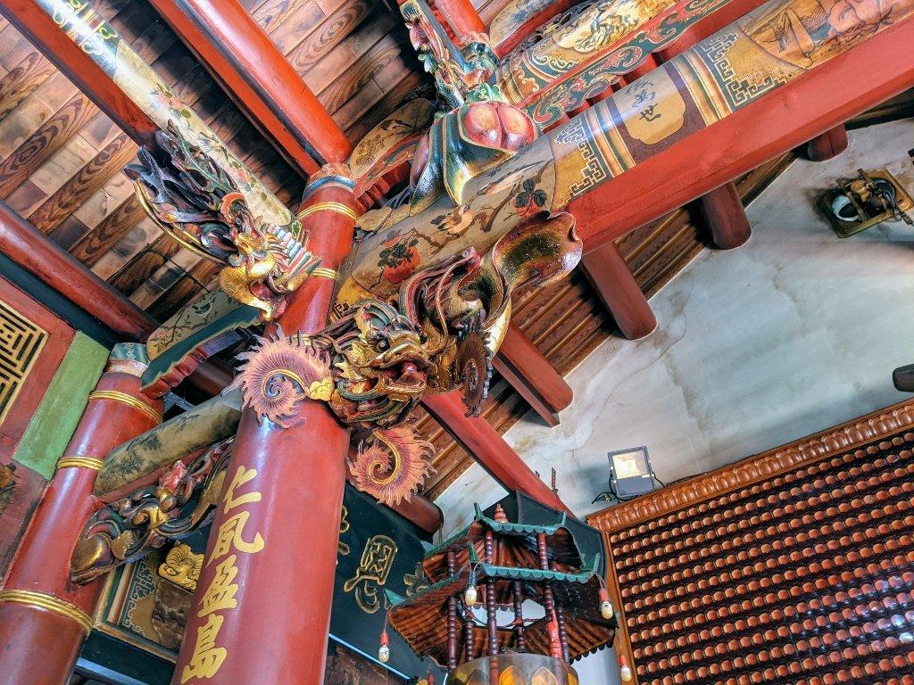 二林仁和宮 廟宇雕刻 (2)