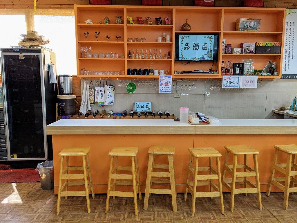 二林台灣酒窖遊客服務中心 品酒區