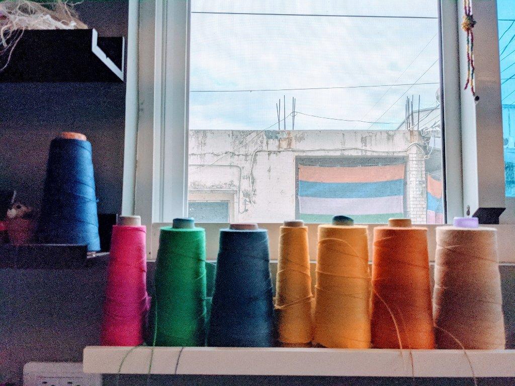 金崙棉織屋 多彩的線
