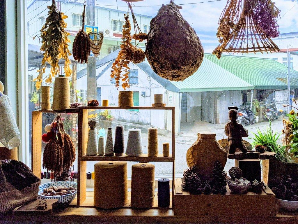 金崙棉織屋 店內裝飾 (2)
