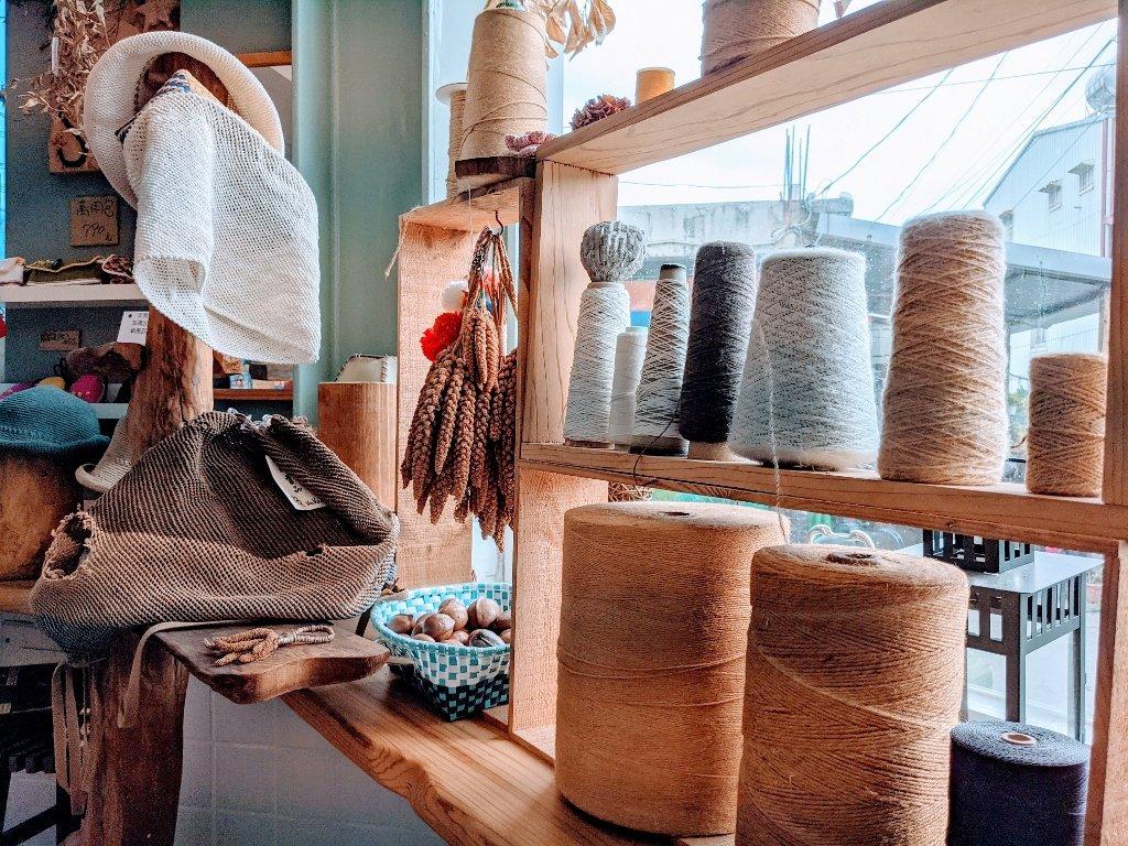 金崙棉織屋 店內裝飾