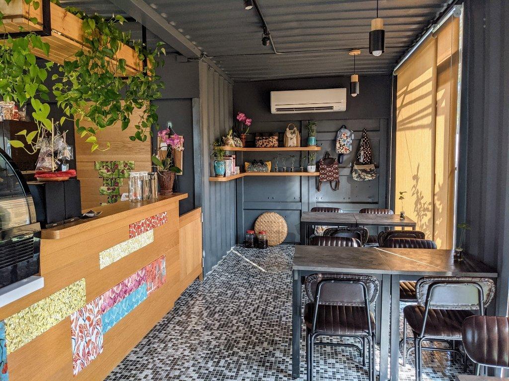 龜丹綠咖啡 店內布置 (1)