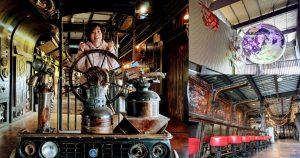 台南景點|拆車夢工廠zero zero.舊零件的新生命,搭上金屬飛船來趟宇宙之旅