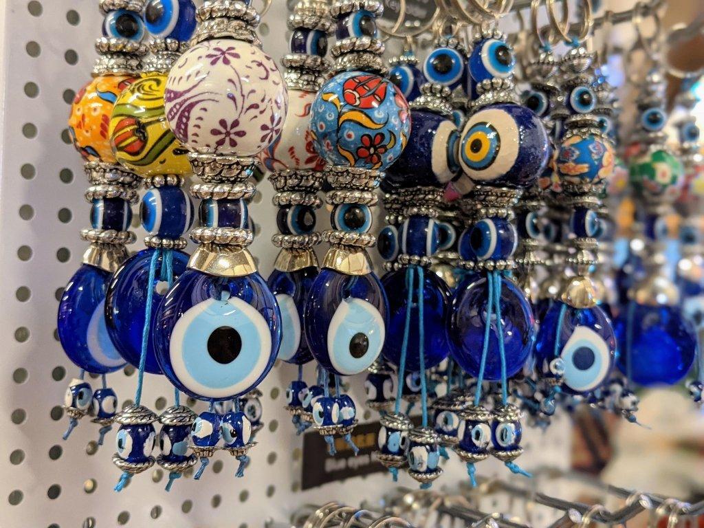 伊斯坦堡市集-勝利星村 藍眼睛吊飾
