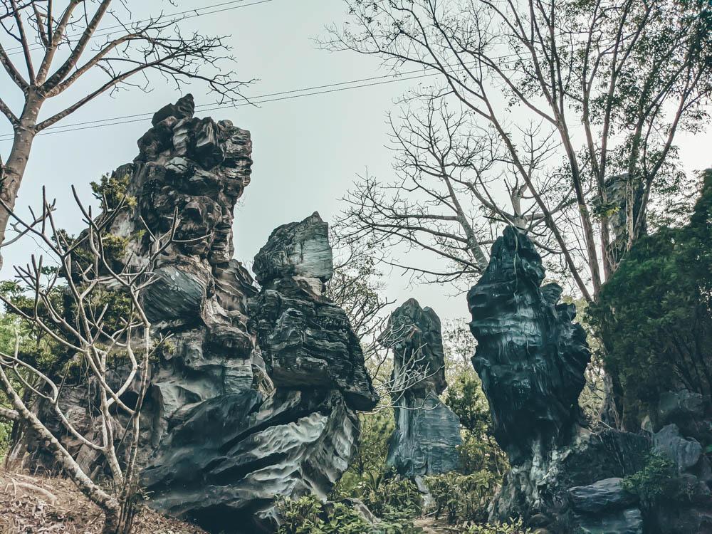 小普陀山石林