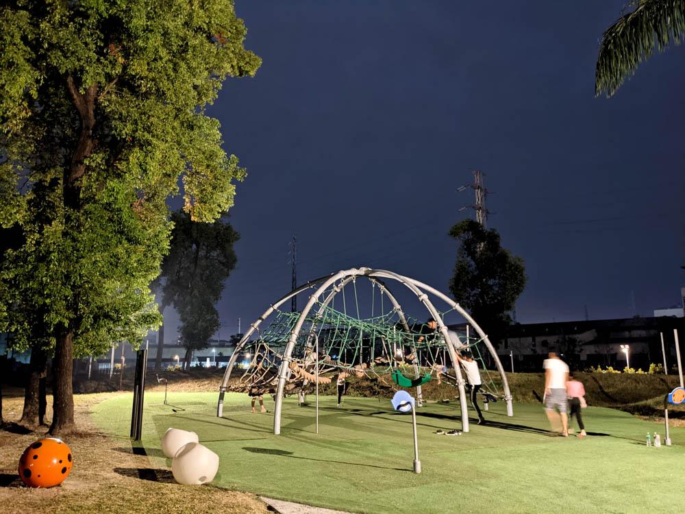 屏東縣民公園 兒童遊樂區 (2)