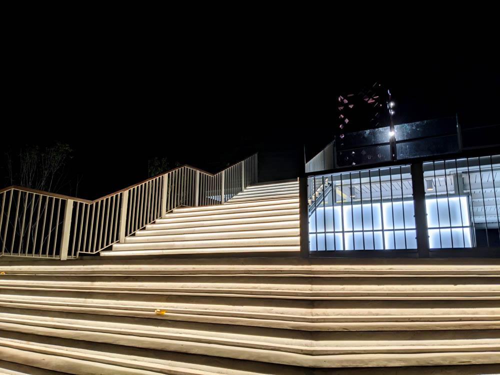 屏東縣民公園 地標塔樓梯