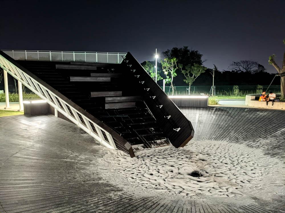 屏東縣民公園 雙園遊憩 觀景沙坑