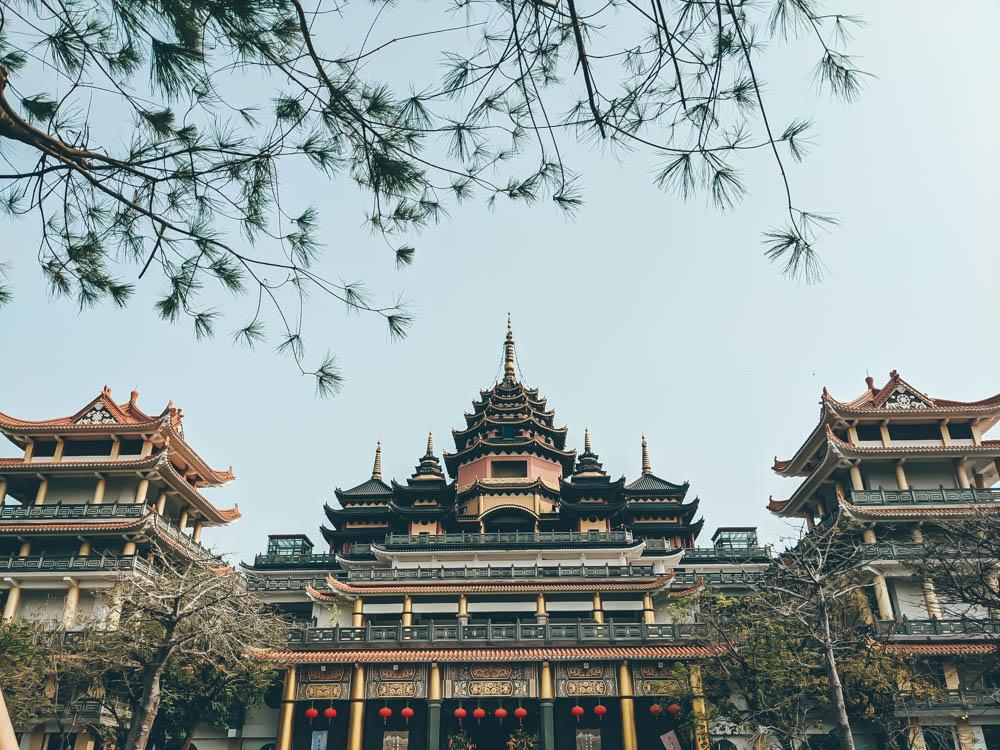 楠西萬佛寺全景