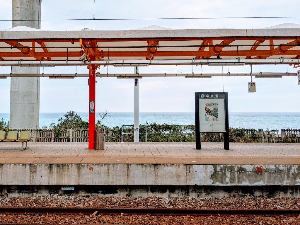 金崙火車站月台 (2)