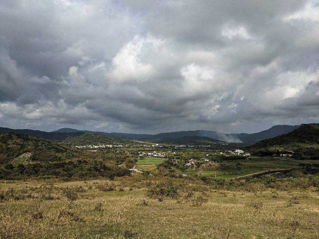 門馬羅山 遼闊的山景