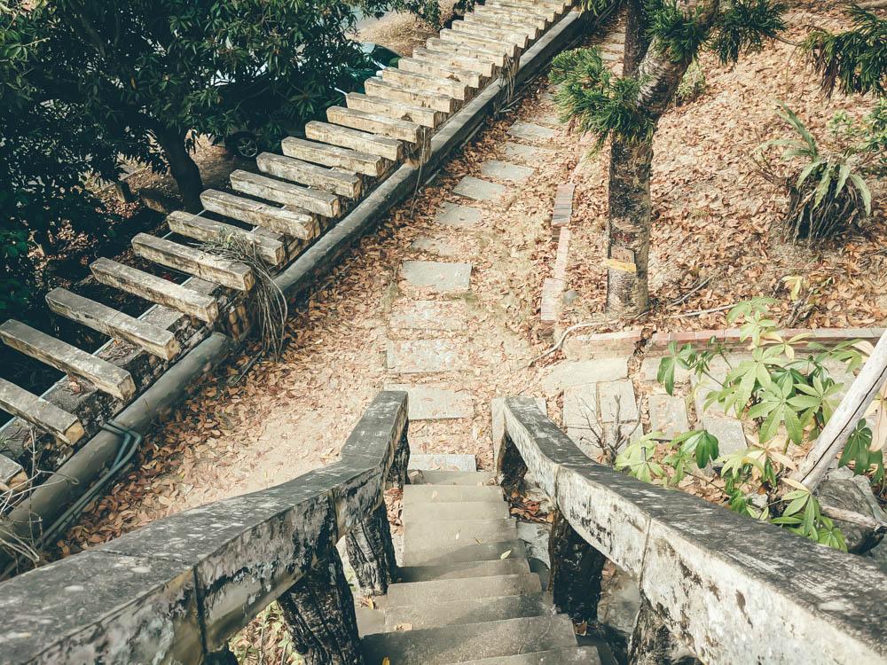 小普陀山樓梯