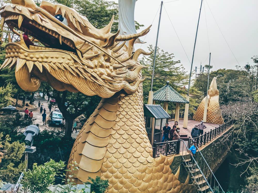 楠西萬佛寺金龍法船