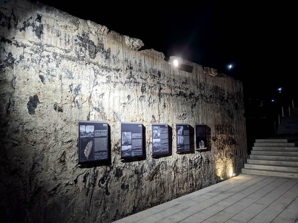 屏東縣民公園新景點 造紙廠遺址大改造,斑駁城牆裡的鋼構世界、超美夜景鏡面水池 5