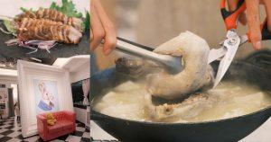 三倆三私房菜|專人桌邊調理全雞,加上稀飯變成好吃鮮粥,屏東聚餐推薦