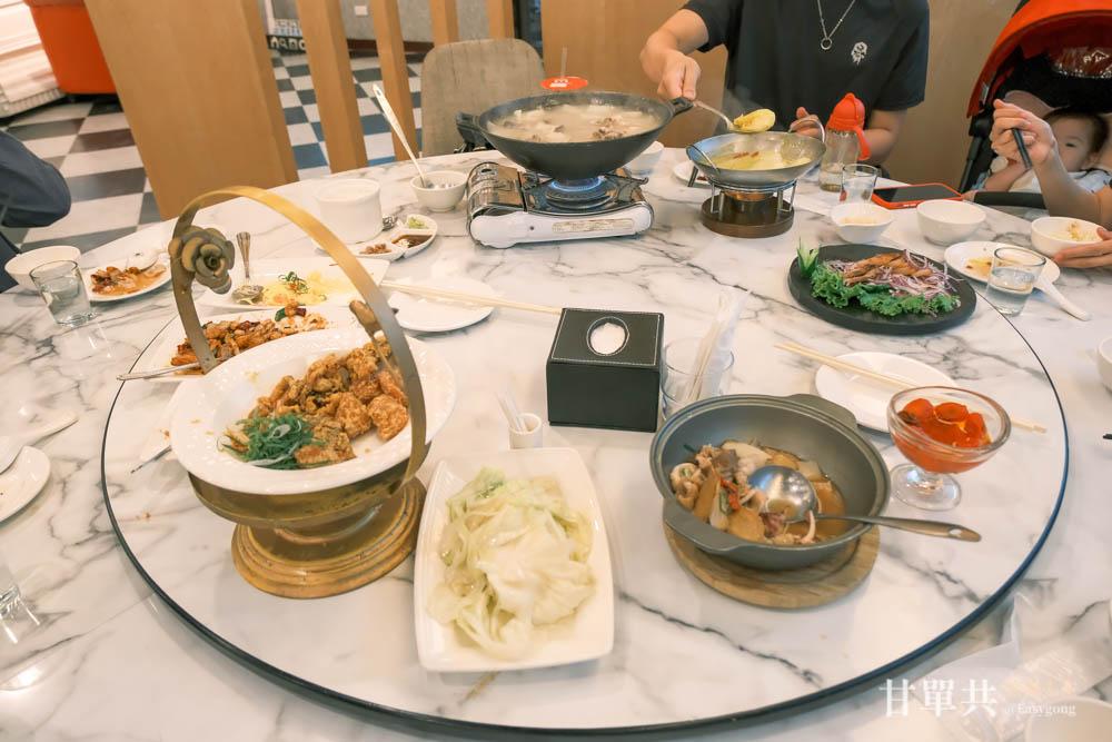 三倆三私房菜 滿桌好菜