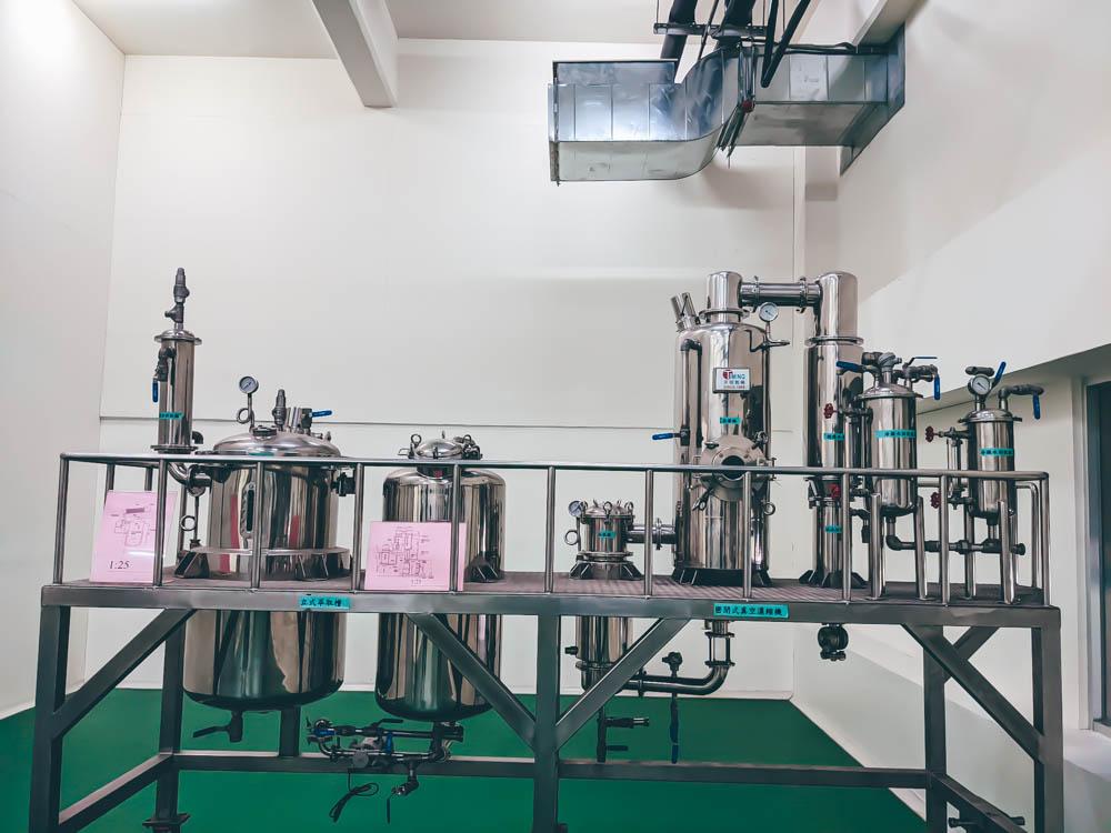 天明製藥觀光藥廠 科技中藥製作區 (1)