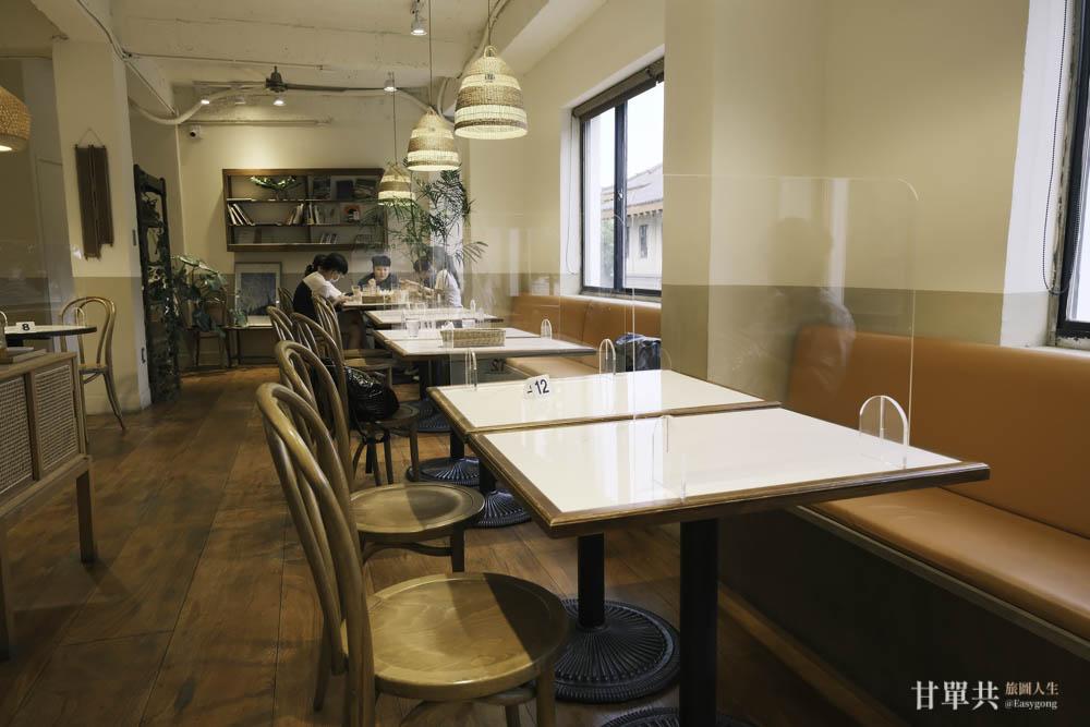 MUSA泰國料理二樓用餐環境