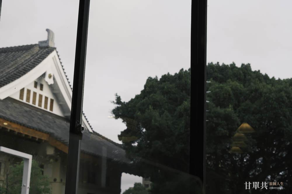 MUSA泰國料理窗外風景
